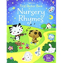 Nursery Rhymes (Usborne First Sticker Books)