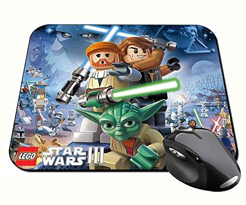 Preisvergleich Produktbild Lego Star Wars III The Clone Wars Mauspad Mousepad PC
