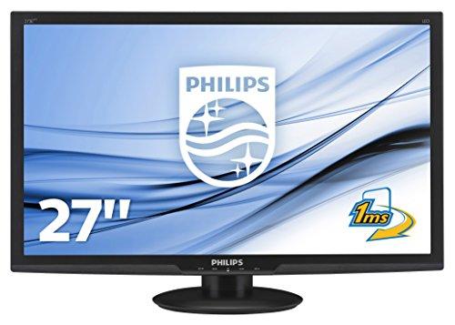 fernseher 26 zoll full hd Philips 273E3LHSB/00 68,6 cm (27 Zoll) Monitor (VGA, DVI, HDMI, 1920 x 1080, 60 Hz, 1ms Reaktionszeit) schwarz