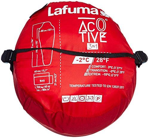 Lafuma Active Schlafsack, Chili Pepper Größe G - 4