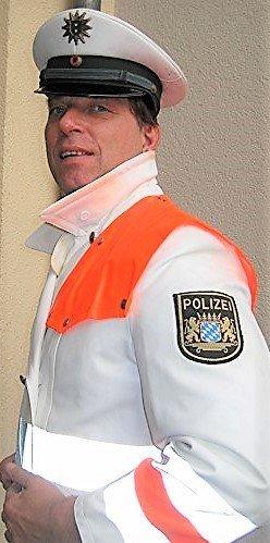 Mantel, Regenmantel, Schutzpolizei, Polizei, Bayern,Größe 48, Fasching, Karneval, Farb, Party, Schupo