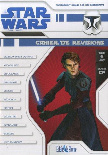 Star Wars Cahier de révisions CP 6 ans