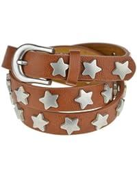 Bags4Less schmaler Vintage Stern Gürtel Model: 45598