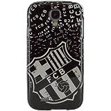 FC Barcelona BRCT003 - Funda TPU con logo retro para Samsung Galaxy S4 i9500, negro