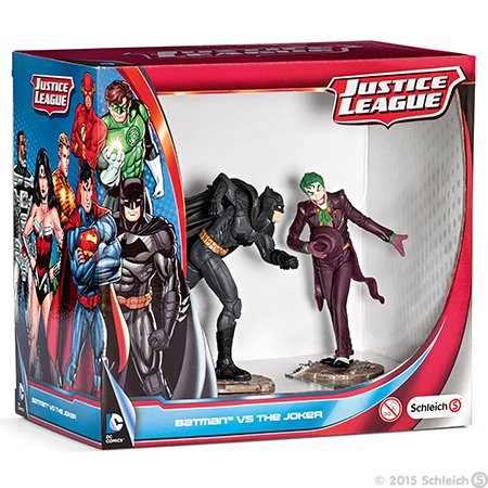 Schleich Batman vs. Joker Scenery Pack Figures