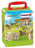 Theo Klein 3113 - Schleich Farm World Maletin Para Coleccionar 18...
