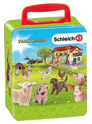 Theo Klein-3113 Schleich farm world maletin para coleccionar...