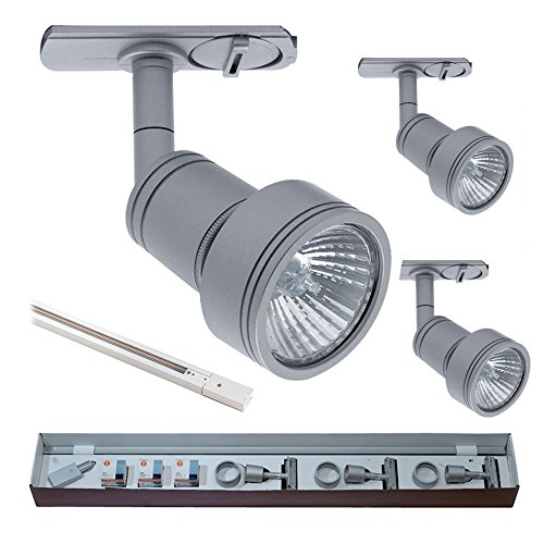 ansell-lighting-primo-gu10-mains-voltage-track-pack-satin-silver