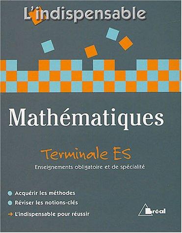 Mathématiques Tle ES