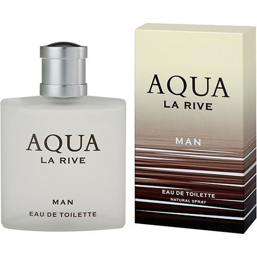 3 Oz Eau De Parfum (La Rive Aqua For Men Perfume EDT 90ml 3.0oz Brand New)