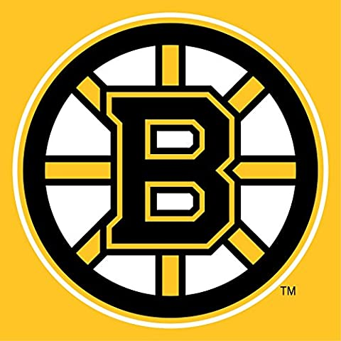 Bruins de Boston NHL Hockey sur glace Crest Sticker mural en vinyle adhésif Art Américain 60 cm x 60 cm Grand (600 x 600 mm)