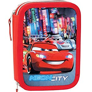 CARS – Trousse garnie double Disney Cars Neon City