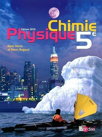 Physique Chimie 5e - Collection Regaud - Vento Manuel de