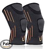 Best Knee Brace For Basketballs - Upfist 2 Pack Knee Support Compression Knee Sleeve Review