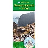 Santo Antao 1:40000 (Serie di mappe escursionistiche per le isole Capo Verde)