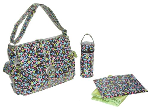 kalencom-fashion-diaper-bag-changing-bag-nappy-bag-mommy-bag-laminated-buckle-bag-bubbles-pastel