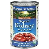 Westbrae Foods Kidney Beans Fat Free 15 Oz (Pack Of 12) - Pack Of 12