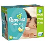 Pampers Baby Dry Diapers Size 4 Economy ...