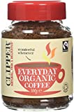 Clipper Fairtrade Rich Roast Organic Instant Coffee Granules 100 g (Pack of 3)
