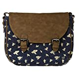 Animal Chance Cross Body Bag - Dark Navy