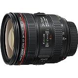 Canon EF 24-70mm f/4L IS USM - Objetivo para Canon (Distancia Focal 24-70mm, Apertura f/2.8-22, Zoom óptico 2.8X,estabilizador, diámetro: 77mm) Negro