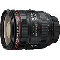 Canon 24-70 mm f/4 L IS USM EF - Objetivo para Canon (distancia focal 24-70 mm, apertura f/4-22, estabilizador, diámetro: 77mm), negro