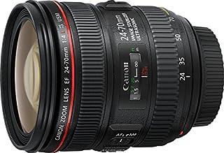 Canon EF 24-70mm f/4L IS USM - Objetivo para Canon (Distancia Focal 24-70mm, Apertura f/2.8-22, Zoom óptico 2.8X,estabilizador, diámetro: 77mm) Negro (B00A2I1D56) | Amazon Products