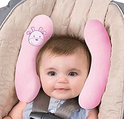 JUYUAN Baby Kinderwagen Kissen,Kopf- und Halsstütze für Kindersitz,verstellbar Soft Support Nackenkissen,Auto Reisen Kopfstütze Kissen fü Kinder Kleinkind Kinderwagen Kinderwagen Kopf unterstützt