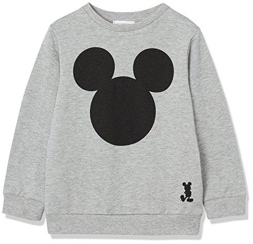 RED WAGON Sudadera de Mickey Mouse para Niños, Gris (Grey Marl 001), 6 años