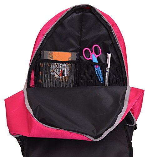 AUXTER Polyester 33 Litre Pink School Backpack Image 7