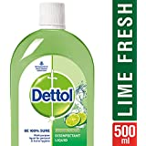 Dettol Disinfectant Cleaner for Home, Lime Fresh – 500 ml