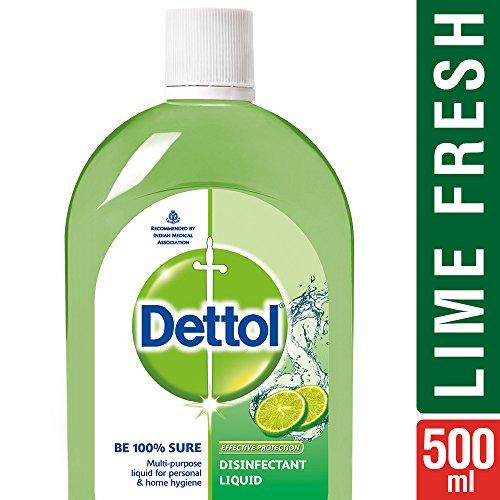Dettol Disinfectant Cleaner for Home, Lime Fresh - 500 ml