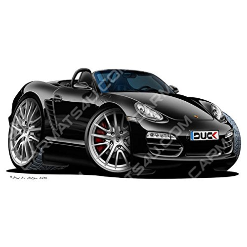porsche-boxster-vinyl-wall-art-sticker-black