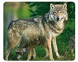 'Wolf MAMA con bebé': alta calidad con animales/cojín de ratón alfombrilla de ratón con...