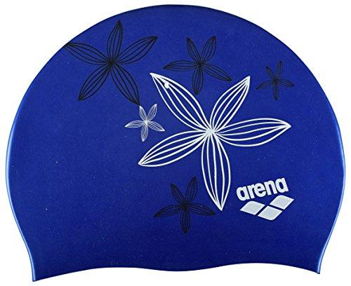 Arena Sirene Berretto di Bagno Donna, donna, Sirene, Hand Draw/Blue, Taglia unica