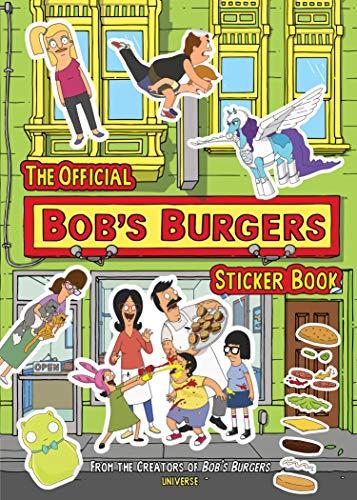 The Official Bob's Burgers Sticker Book (Sticker Books)