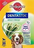 Pedigree Dentastix Fresh Premios para Perros Medianos de Higiene Oral...
