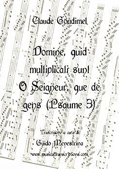 Libros Gratis Descargar Claude Goudimel - Domine quid multiplicati sunt O Seigneur que de gens: Psaume 3 Paginas De De PDF