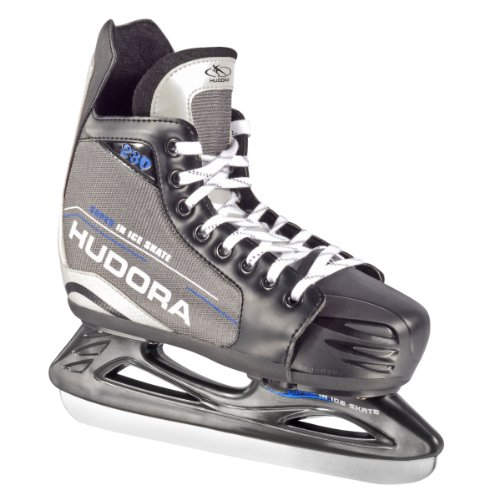 HUDORA Eishockey-Schuhe verstellbar, Gr. 32 - 35 - Schlittschuhe Eishockey - 44621
