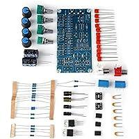 Amplificador de Preamplificador Estéreo de CA 15V AMP Kit de Control de Tono de Volumen de la Placa del Módulo de Control de Bricolaje