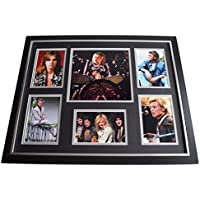 Sportagraphs Roger Taylor SIGNED Framed Photo Autograph Huge display Queen Music AFTAL COA PERFECT GIFT