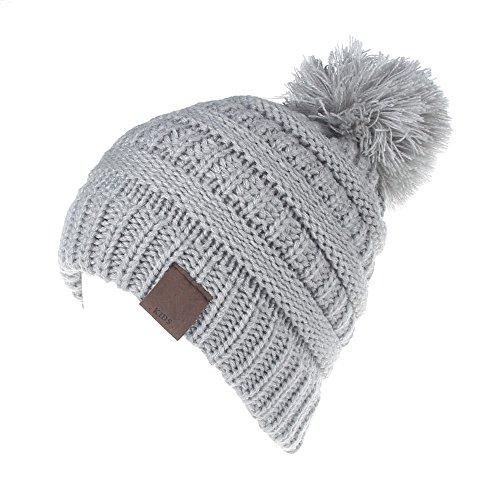 MIOIM Baby Strickmützen Gestrickt Warme Winter Mütze Hut Beanie Kleinkind Kinder Cap Hüte für Mädchen (Mützen Für Baby Jungen)