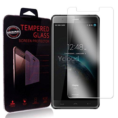 Ycloud Panzerglas Folie Schutzfolie Bildschirmschutzfolie für Homtom HT10 screen protector mit Härtegrad 9H, 0,26mm Ultra-Dünn, Abger&ete Kanten