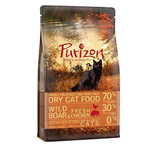 Purizon Premium Adult Cat Food–Wildschwein frischem Huhn und Fisch (6,5kg)