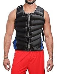 Gilet lesté cardiovasculaire Training Course à Pied Gym Force Veste de sport 12kg et 15kg