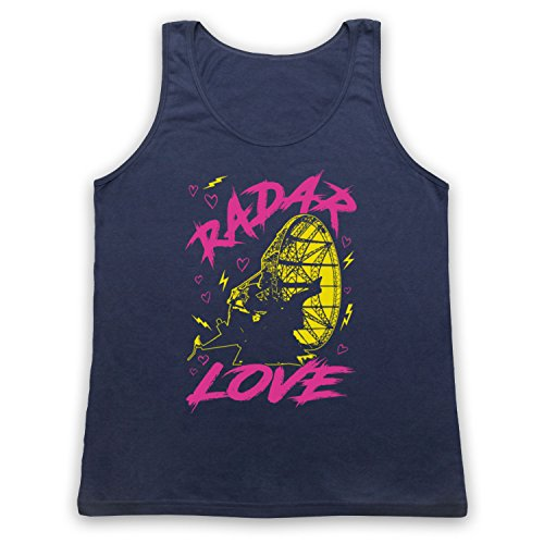 Golden Earring Radar Love Tank-Top Weste Ultramarinblau