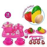 Kunststoff Küche Spielzeug Kinder Kleine Küche Kochen Set Rollenspiel vortäuschen
