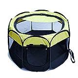 HJL&XD Welpenlaufstall/Tierlaufstall/ Hundehütte/Welpenauslauf/ Laufstall für Hunde/Welpenlaufstall/ Katzenhaus/Wasserdichtes Zelt (72 * 72 * 45cm)