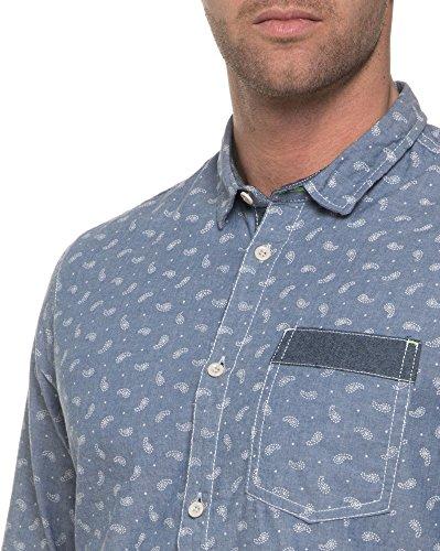 BLZ Jeans - Chemise homme imprimée Bleu