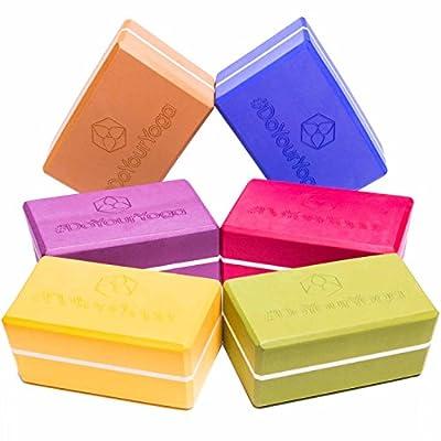 Yogablock »Adhipa« - EXTRA DICK - erhältlich in den Trendfarben: Erdbraun Moosgrün Bordeaux Currygelb Lila / Der ideale Yogaklotz aus gehärtetem Schaumstoff (Hartschaum) / REACH geprüft (keine Schadstoffe) der Yoga Brick ist ein praktisches Hilfsmittel (Y